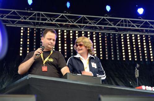 DJ in Frankfurt zur Schlagernacht - mit Thomas Abraham