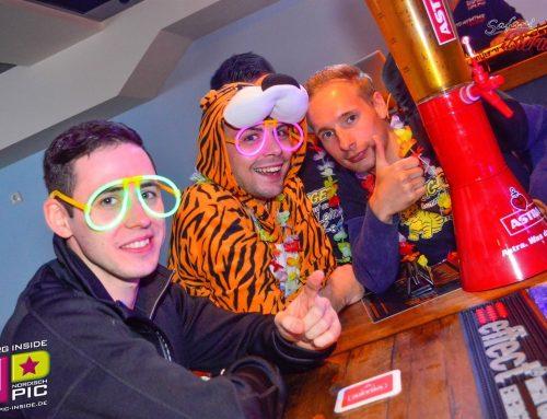 Hamburg eskaliert bei Schlagerparty im Safari am 31.12.2015