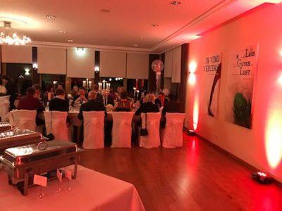 Ambiente Beleuchtung bei Ihrer Hochzeit mit Hochzeits DJ Thomas Abraham