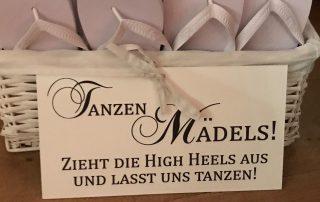 Hochzeit Füße