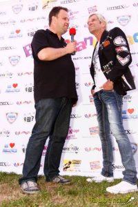 Party DJ Thomas Abraham zusammen mit Matthias Reim