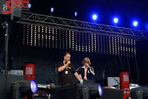 Schlagerparty in der Commerzbank Arena in Frankfurt am Main - DJ & Moderation Thomas Abraham