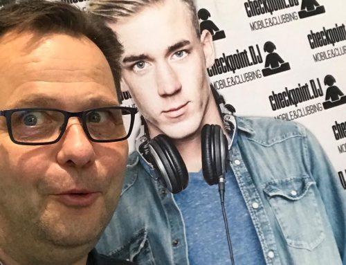 DJ Thomas Abraham auf der Checkpoint.DJ