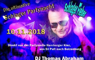 Schlagerparty Boizenburg 10.11.2018