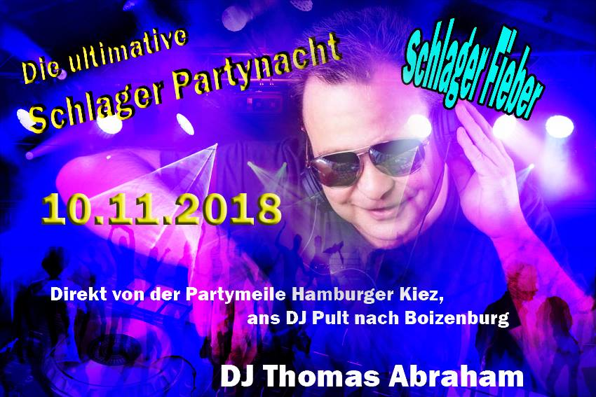 Schlagerparty Boizenburg 10.11.2018