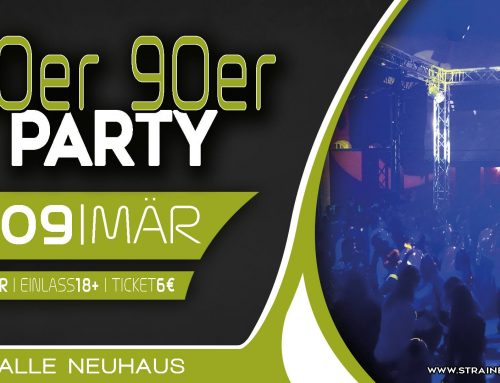 80er 90er Party in der Festhalle Neuhaus