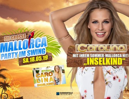 Mallorca Party DJ mit Carolina in Janssens Tanzpalast