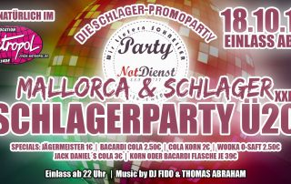 Schlager- & Mallorca-Party