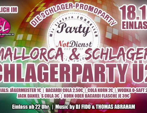 Schlager- & Mallorca-Party in Stade
