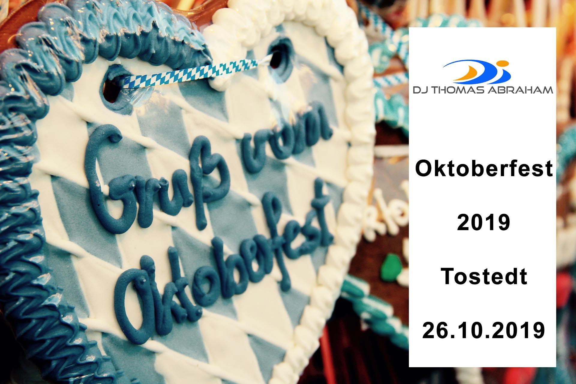 Oktoberfest Tostedt 2019