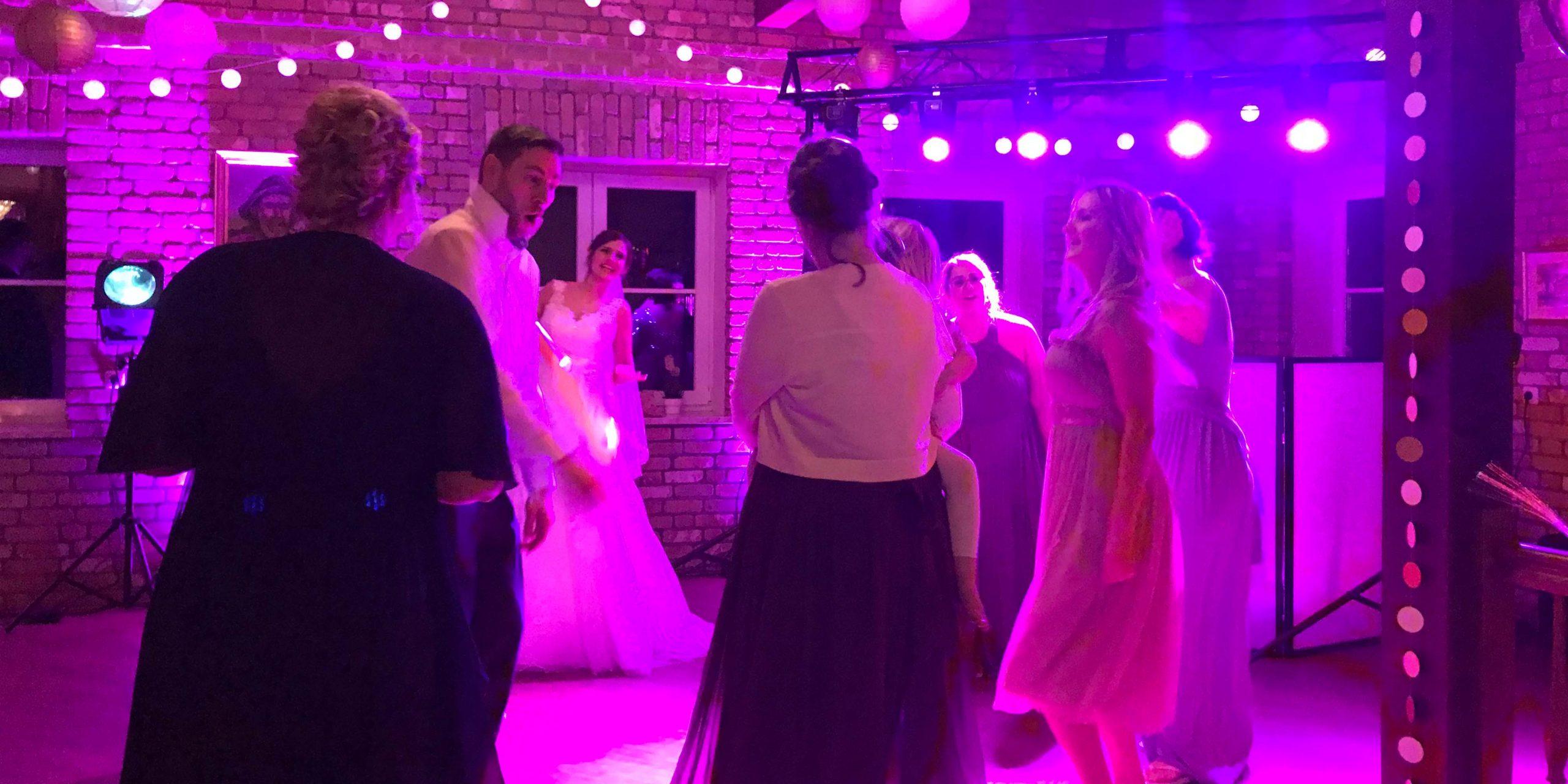 Hochzeits DJ Party